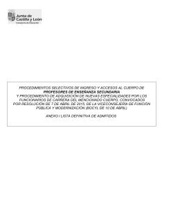 0590 Profesores Secundaria Admitidos