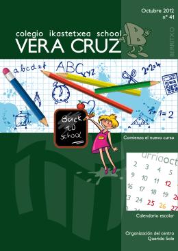 Berritxo de Octubre 2012 - Colegio Vera-Cruz