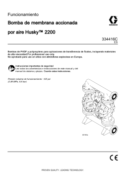 334416C, Husky 2200 Air-Operated Diaphragm Pump