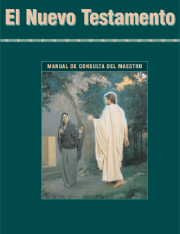El Nuevo Testamento: Manual de consulta del maestro