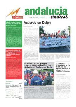 Acuerdo en Delphi - CCOO de Industria