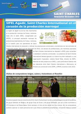 SIFEL Agadir, Saint Charles International en el corazón de la