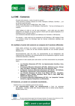 La CNE - Commerce - Joint Social Conference