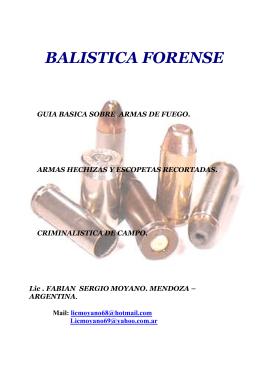 Libro Balistica Forense
