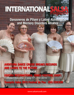 Danzoneros de Pilsen y Latino Alzheimer`s and