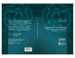 ASSIST - World Health Organization