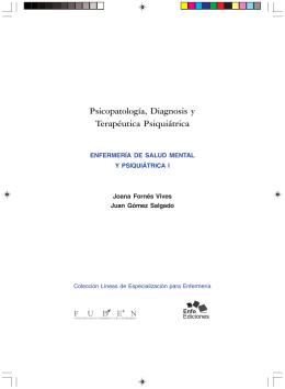 Psicopatología, Diagnosis y Terapéutica Psiquiátrica