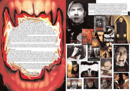 El personaje del conde Drácula y sus derivaciones vampirescas ha