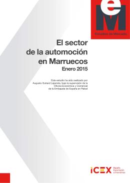 Informe Automoción 2015 - Cámara Española de Comercio e