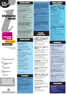 Nº 236 del 16 al 30 de abril de 2015