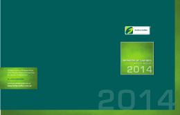 MEMORIA DE LABORES Annual Report