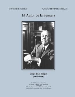 El Autor de la Semana: Jorge Luis Borges