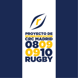 CRC MADRID - Tu patrocinio