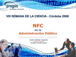 El uso de NFC en la administración pública.
