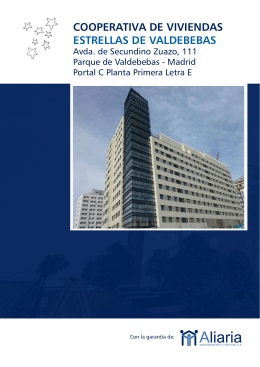 cooperativa de viviendas estrellas de valdebebas