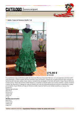 175.00 € - Flamenco Export