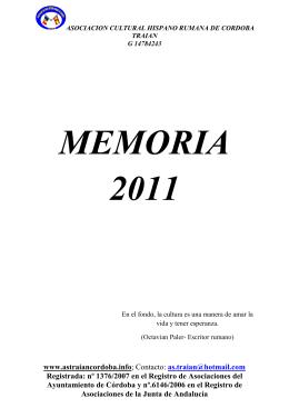 memoria 2011 2