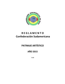 R E G L A M E N T O Confederación Sudamericana
