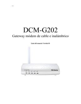 Dlink DCM G202
