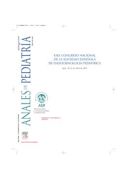 Congreso SEEP 2007 - Sociedad Española de Endocrinología