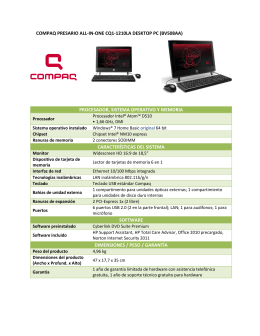 compaq presario all-in-one cq1