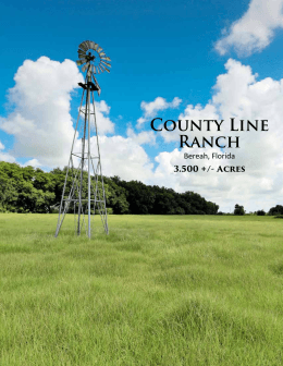County Line Ranch - Saunders Real Estate