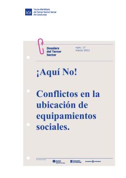 Aquí No! - Taula d`Entitats del Tercer Sector Social de Catalunya
