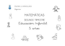 MATEMÁTICAS Educación Infantil 5 años