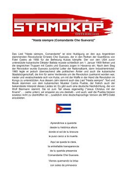 """""""Hasta siempre (Comandante Che Guevara)"""""""