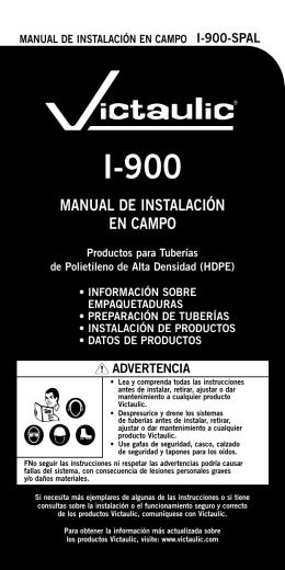 MANUAL DE INSTALACIÓN EN CAMPO