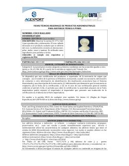 NOMBRE: COCO RALLADO DESHIDRATADO
