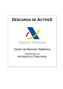 Instalación de Active X