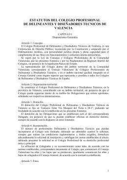 Colegio Oficial de Delineantes y Diseñadores Técnicos de Valencia