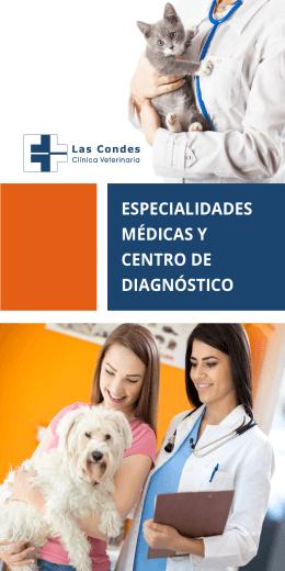 Especialidades Médicas - Clínica Veterinaria Las Condes
