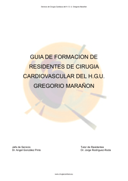GUIA DE FORMACION DE RESIDENTES DE CIRUGIA