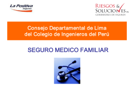 seguro medico familiar - Riesgos y Soluciones | Corredores de