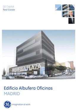 Edificio Albufera Oficinas MADRID