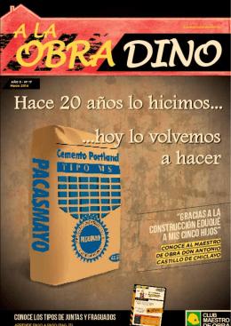 Revista A la obra DINO