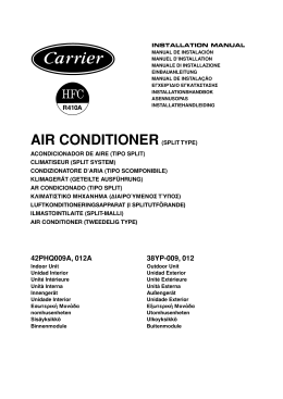 AIR CONDITIONER(SPLIT TYPE)