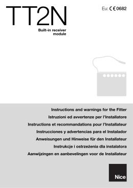 manual de instalación y programación