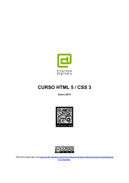 Manual intro CSS3 - Enero 2013