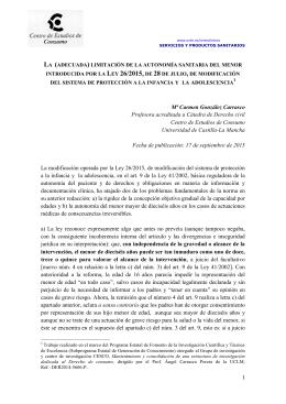 1 Mª Carmen González Carrasco Profesora acreditada