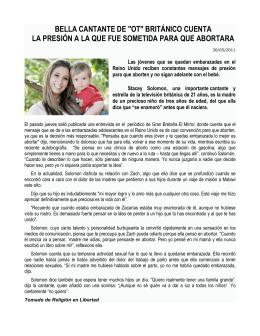 """BELLA CANTANTE DE """"OT"""" BRITÁNICO CUENTA LA PRESIÓN A"""