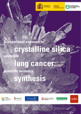 crystalline silica lung cancer - Observatorio Estatal de Condiciones