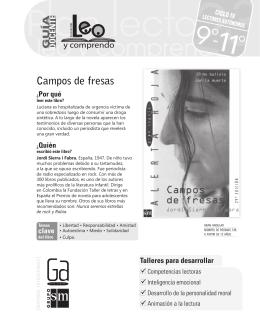 Campos de fresas - Literatura SM Colombia