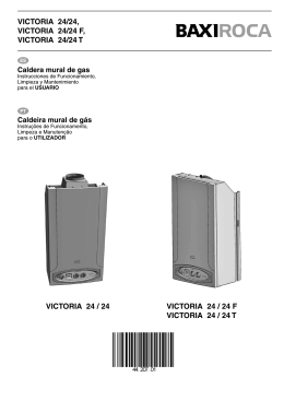 VICTORIA 24/24, VICTORIA 24/24 F, VICTORIA 24/24 T VICTORIA
