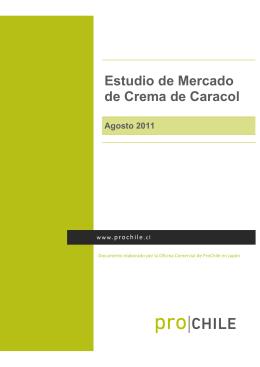 Estudio de Mercado de Crema de Caracol
