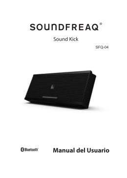 Manual del Usuario - Soundfreaq User Guides