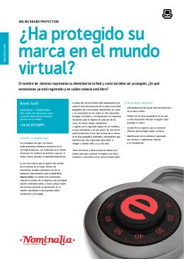¿Ha protegido su marca en el mundo virtual?
