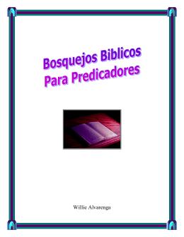 Bosquejos Biblicos Para Predicadores